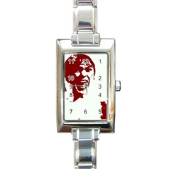 Psycho Rectangle Italian Charm Watches