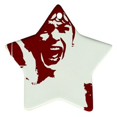 Psycho Star Ornament (Two Sides)