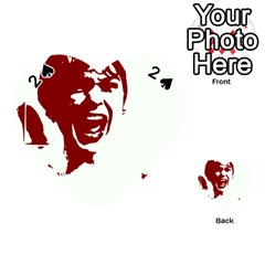 Psycho Playing Cards 54 (Heart)