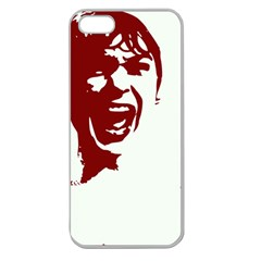 Psycho Apple Seamless iPhone 5 Case (Clear)