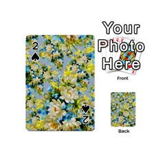 Vintage Floral Pattern Playing Cards 54 (mini)