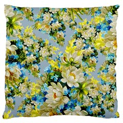 Vintage Floral Pattern Large Cushion Cases (One Side)