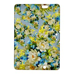 Vintage Floral Pattern Kindle Fire Hdx 8 9  Hardshell Case