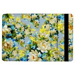 Vintage Floral Pattern iPad Air Flip