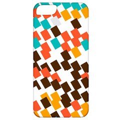 Rectangles on a white background Apple iPhone 5 Classic Hardshell Case