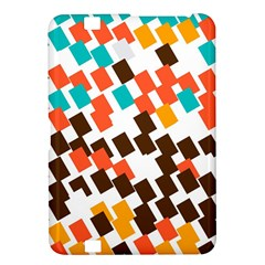 Rectangles on a white background Kindle Fire HD 8.9  Hardshell Case