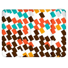 Rectangles On A White Background Samsung Galaxy Tab 7  P1000 Flip Case