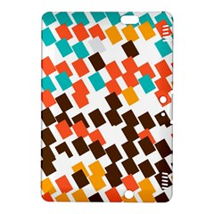 Rectangles On A White Backgroundkindle Fire Hdx 8 9  Hardshell Case