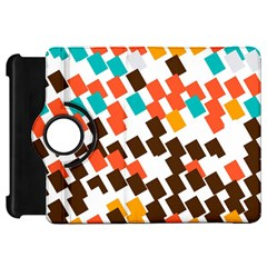 Rectangles on a white backgroundKindle Fire HD Flip 360 Case