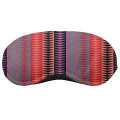 Triangles and stripes pattern Sleeping Mask