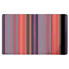 Triangles and stripes pattern Apple iPad 2 Flip Case