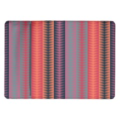 Triangles and stripes pattern Samsung Galaxy Tab 10.1  P7500 Flip Case
