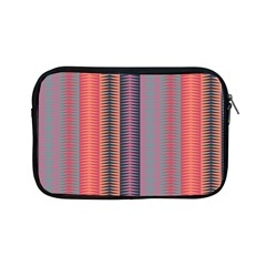 Triangles And Stripes Pattern Apple Ipad Mini Zipper Case