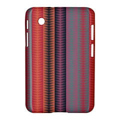 Triangles and stripes pattern Samsung Galaxy Tab 2 (7 ) P3100 Hardshell Case