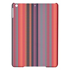 Triangles and stripes pattern Apple iPad Air Hardshell Case