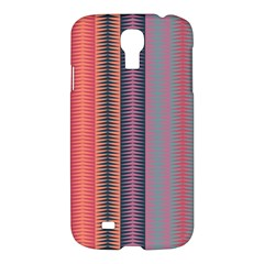 Triangles and stripes pattern	Samsung Galaxy S4 I9500/I9505 Hardshell Case $10