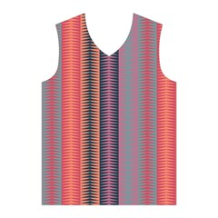 Triangles and stripes pattern Men s Basketball Tank Top
