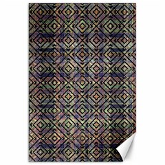 Multicolored Ethnic Check Seamless Pattern Canvas 20  x 30