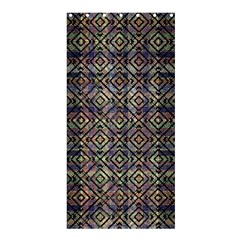 Multicolored Ethnic Check Seamless Pattern Shower Curtain 36  x 72  (Stall)