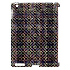 Multicolored Ethnic Check Seamless Pattern Apple iPad 3/4 Hardshell Case (Compatible with Smart Cover)