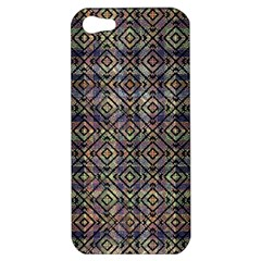Multicolored Ethnic Check Seamless Pattern Apple iPhone 5 Hardshell Case