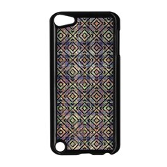 Multicolored Ethnic Check Seamless Pattern Apple iPod Touch 5 Case (Black)