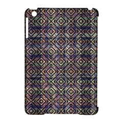 Multicolored Ethnic Check Seamless Pattern Apple iPad Mini Hardshell Case (Compatible with Smart Cover)