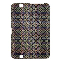 Multicolored Ethnic Check Seamless Pattern Kindle Fire HD 8.9