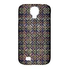 Multicolored Ethnic Check Seamless Pattern Samsung Galaxy S4 Classic Hardshell Case (pc+silicone)