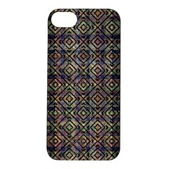 Multicolored Ethnic Check Seamless Pattern Apple Iphone 5s Hardshell Case