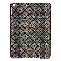 Multicolored Ethnic Check Seamless Pattern iPad Air Hardshell Cases