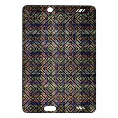 Multicolored Ethnic Check Seamless Pattern Kindle Fire Hd (2013) Hardshell Case