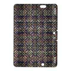 Multicolored Ethnic Check Seamless Pattern Kindle Fire HDX 8.9  Hardshell Case