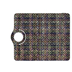 Multicolored Ethnic Check Seamless Pattern Kindle Fire Hdx 8 9  Flip 360 Case