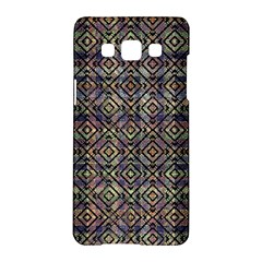 Multicolored Ethnic Check Seamless Pattern Samsung Galaxy A5 Hardshell Case
