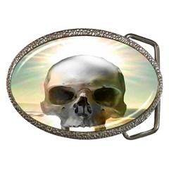 Skull Sunset Belt Buckles
