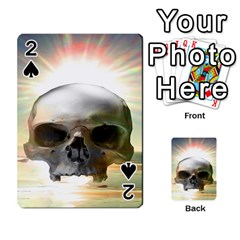 Skull Sunset Playing Cards 54 Designs