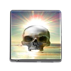 Skull Sunset Memory Card Reader (square)