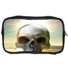 Skull Sunset Toiletries Bags