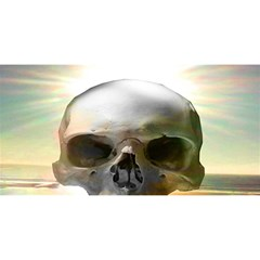 Skull Sunset YOU ARE INVITED 3D Greeting Card (8x4)