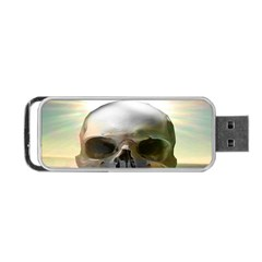 Skull Sunset Portable USB Flash (Two Sides)