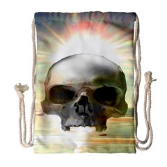 Skull Sunset Drawstring Bag (Large)