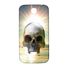 Skull Sunset Samsung Galaxy S4 I9500/I9505  Hardshell Back Case