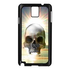 Skull Sunset Samsung Galaxy Note 3 N9005 Case (Black)