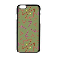 Angles Apple Iphone 6 Black Enamel Case