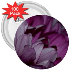 Purple! 3  Buttons (100 pack)