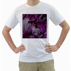 Purple! Men s T-Shirt (White) (Two Sided)