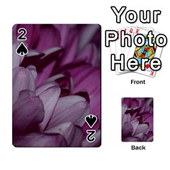 Purple! Playing Cards 54 Designs