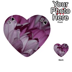 Purple! Playing Cards 54 (heart)