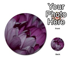 Purple! Multi-purpose Cards (Round)